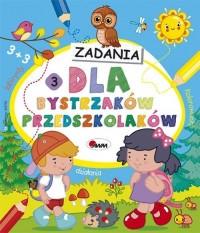 Dla bystrzaków przedszkolaków 3 - okładka podręcznika