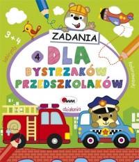 Dla bystrzaków przedszkolaków 4 - okładka podręcznika