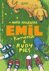 Emil, kanarek i rudy pies - okładka książki