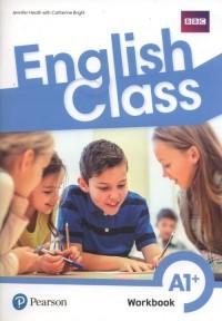 English Class A1+ Workbook +ćwiczenia online - okładka podręcznika