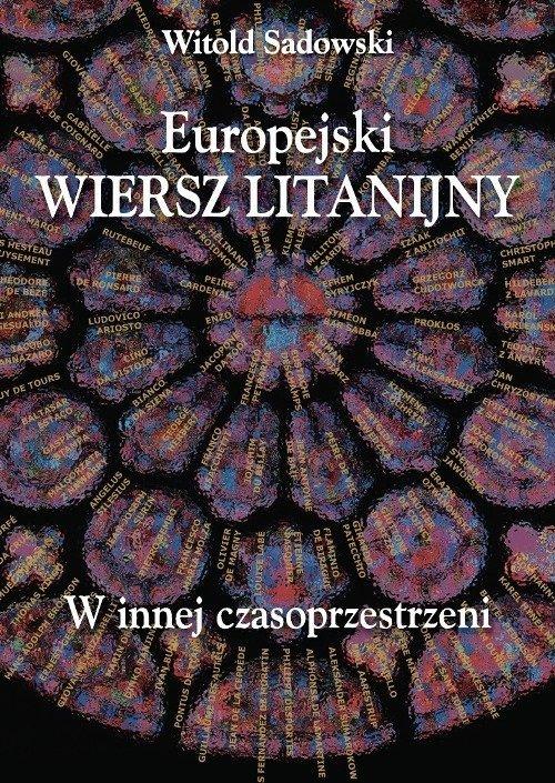 Europejski wiersz litanijny. W - okładka książki
