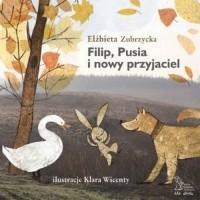 Filip Pusia i nowy przyjaciel - okładka książki