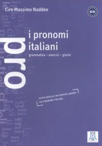 I pronomi italiani - okładka podręcznika