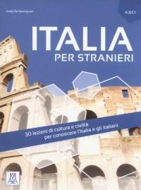 Italia per stranieri - okładka podręcznika
