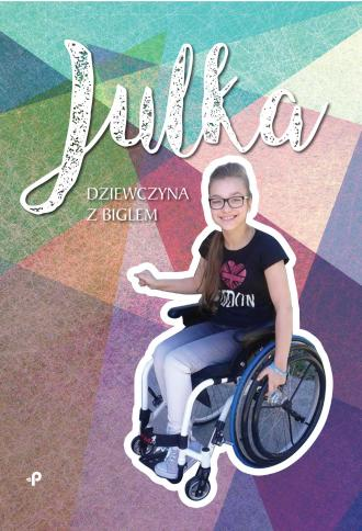 Julka - dziewczyna z biglem - okładka książki