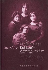 Koli Isze. Głos kobiet w poezji jidysz - okładka książki