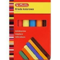 Kreda kolorowa 12 sztuk - zdjęcie produktu