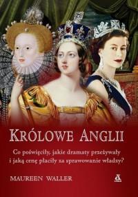 Królowe Anglii - okładka książki