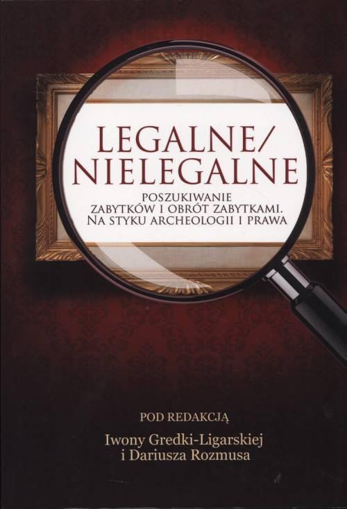 Legalne/nielegalne poszukiwanie - okładka książki