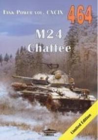 M24 Chaffee Tank Power vol. CXCIX 464 - okładka książki