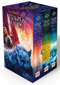Magnis Chase / Bogowie Asgardu. PAKIET - okładka książki