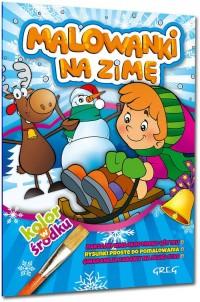 Malowanki na zimę - okładka książki