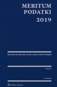 MERITUM. Podatki 2019 - okładka książki