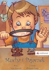 Mucha i Pajączek - okładka książki