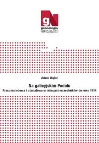 Na galicyjskim Podolu. Praca narodowa i oświatowa w relacjach uczestników do roku 1914 - okładka książki