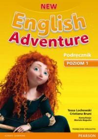 New English Adventure 1. Podręcznik - okładka podręcznika