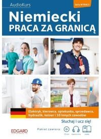 Niemiecki. Praca za granicą - okładka podręcznika
