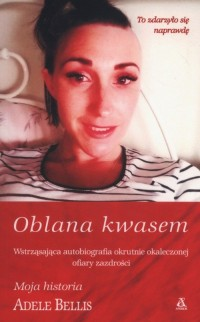 Oblana kwasem - okładka książki