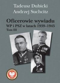 Oficerowie wywiadu WP i PSZ w latach - okładka książki