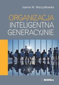 Organizacja inteligentna generacyjnie - okładka książki