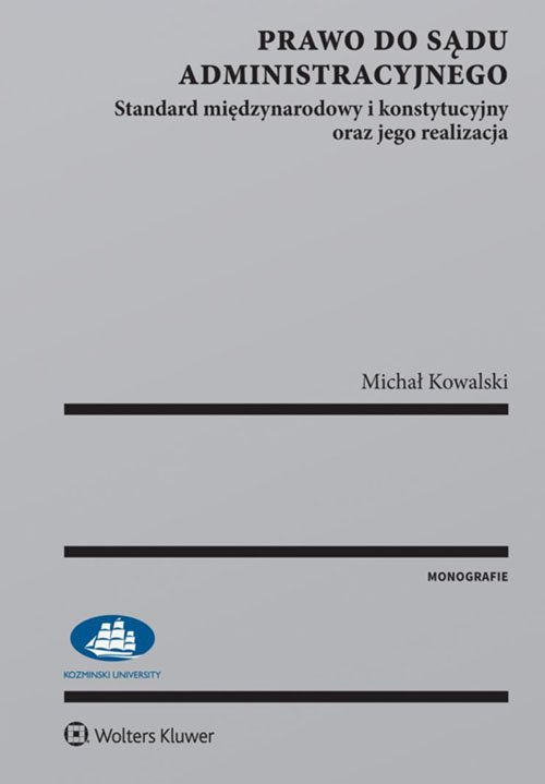 Prawo do sądu administracyjnego. - okładka książki