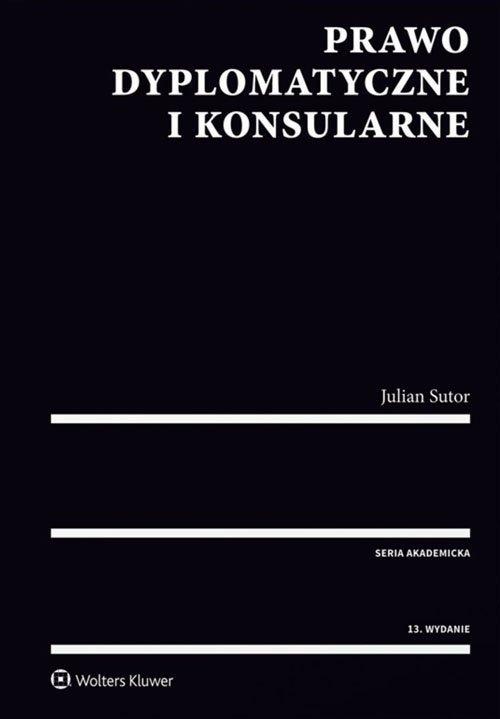 Prawo dyplomatyczne i konsularne - okładka książki