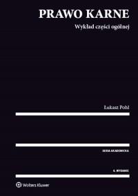 Prawo karne. Wykład części ogólnej - okładka książki