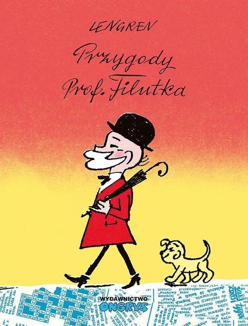 Przygody prof Filutka - okładka książki