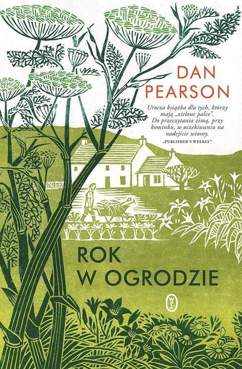 Rok w ogrodzie - okładka książki