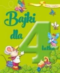 Rosnę i czytam Bajki dla 4-latka - okładka książki
