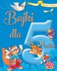 Rosnę i czytam Bajki dla 5-latka - okładka książki