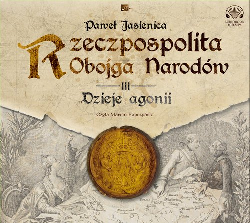 Rzeczpospolita Obojga Narodów 3. - pudełko audiobooku