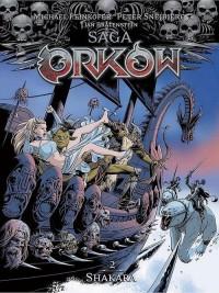 Saga Orków 2. Shakara - okładka książki