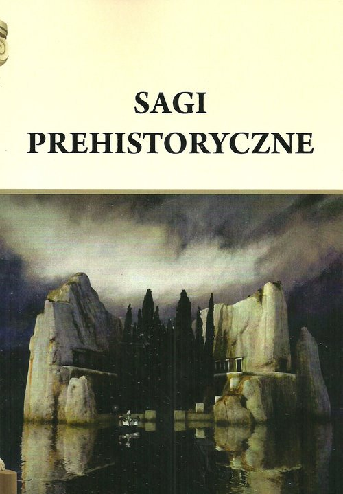 Sagi prehistoryczne - okładka książki