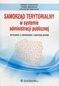 Samorząd terytorialny w systemie administracji publicznej - okładka książki