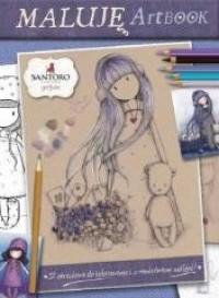 Santoro. Maluję Artbook - okładka książki