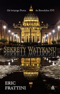 Sekrety Watykanu - okładka książki