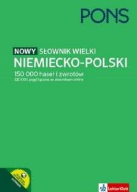 Słownik wielki niemiecko-polski - okładka książki