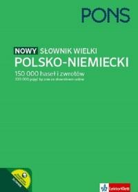 Słownik wielki polsko-niemiecki - okładka książki