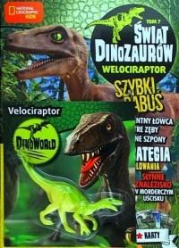 Świat Dinozaurów. Tom 7. Welociraptor - okładka książki