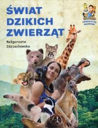 Świat dzikich zwierząt - okładka książki
