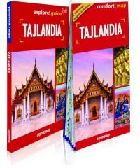 Tajlandia light przewodnik + mapa. explore guide! light - okładka książki