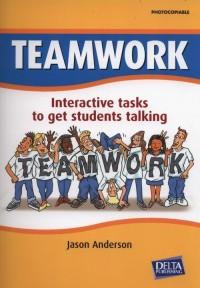 Teamwork. Interactive tasks to get students talking - okładka podręcznika