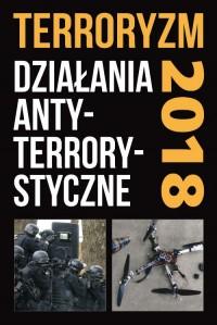 Terroryzm. Działania antyterrorystyczne. Perspektywy, wydarzenia - okładka książki
