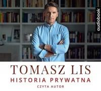 Tomasz Lis. Historia prywatna - pudełko audiobooku