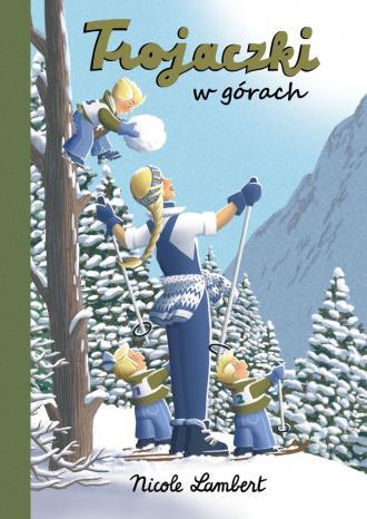 Trojaczki w górach - okładka książki