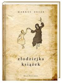 Złodziejka książek - okładka książki
