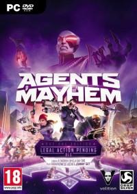 Agent of Mayhem PC - pudełko programu