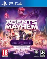 Agent of Mayhem PS4 - pudełko programu
