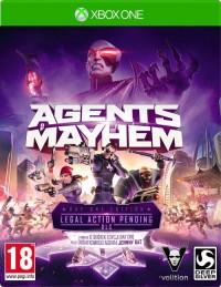 Agent of Mayhem Xbox1 - pudełko programu